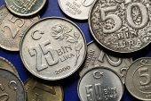 picture of turkish lira  - Coins of Turkey - JPG