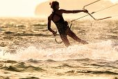 picture of kites  - A young woman kite - JPG