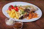 picture of shawarma  - Shawarma - JPG