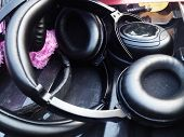 image of work crew  - Headphones for Sound Recorder - JPG