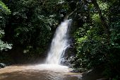 pic of langkawi  - Waterfall and green rainforest in Langkawi Malaysia - JPG