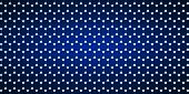 image of graphene  - Widescreen blue background with a crystal lattice - JPG