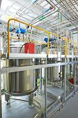 picture of pharmaceutical  - Pharmaceutical technology equipment facility for water preparation - JPG