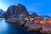 picture of reining  - Reine fishing village in Lofoten Islands - JPG