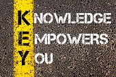 picture of empower  - Knowledge Empowers You  - JPG