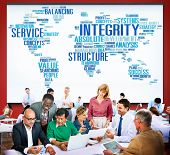 pic of earth structure  - Integrity Structure Service Analysis Value Service Concept - JPG