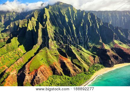 Hawaii nature travel destination Na