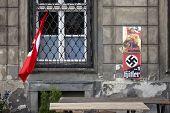 image of swastik  - Nazi propaganda - JPG