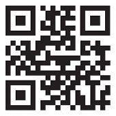 pic of qr-code  - sample qr code ready to scan with smart phone - JPG