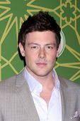 LOS ANGELES - JAN 8:  Cory Monteith arrives at the Fox TCA Party - Winter 2012 at Castle Green on Ja