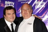 Los Angeles jan 13: jack Black, Kyle Gass in die