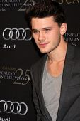 LOS ANGELES - JAN 14:  Jeremy Irvine arrives at  the BAFTA Award Season Tea Party 2012 at Four Seaon