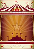 stock photo of circus tent  - wonderful circus background - JPG