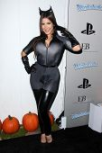 LOS ANGELES - OCT 27:  Mayra Veronica arrives at EBMRF And PlayStation Epic Halloween Bash at Privat