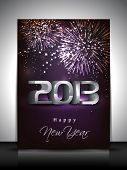 picture of happy new year 2013  - 2013 Happy New Year greeting card - JPG