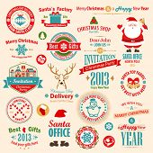 picture of letters to santa claus  - Christmas set  - JPG