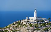 Lighthouse At Cape Formentor In The Coast Of North Mallorca