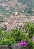 picture of chopin  - A View of Valldemossa in Mallorca Spain  - JPG