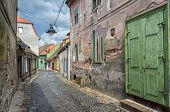 picture of sibiu  - Sibiu town in Transylvania Romania - JPG