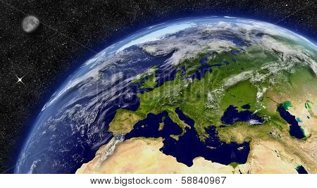 Europe On Planet Earth poster