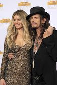 LOS ANGELES - JAN 14:  Marisa Miller, Steven Tyler at the 50th Sports Illustrated Swimsuit Issue at
