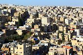 stock photo of jabal  - The streets of the capital city of Jordan - JPG