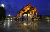 image of reign  - There is royal temple at the Giant Swing in Bangkok in Thailand Wat Suthat is a temple of Rama 8 reign The Chapel of Wat Suthat on March 12 2014 Bangkok Thailand - JPG