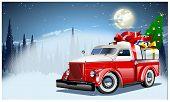 stock photo of weihnachten  - Vector Christmas Card - JPG