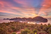 stock photo of koh phi-phi  - Travel vacation background  - JPG