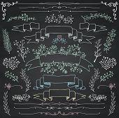 image of divider  - Hand Drawn Doodle Design Elements - JPG