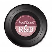 Постер, плакат: Rhythm and blues vinyl record