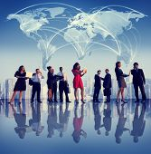 stock photo of collaboration  - Business People Collaboration Team Teamwork Professional Concept - JPG