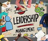 image of idealistic  - Leadership Leader Management Authority Director Concept - JPG