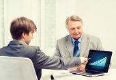 image of older men  - business - JPG