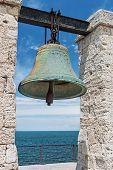 pic of sevastopol  - Big bell in the Chersonesus in Crimea near Sevastopol - JPG