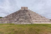 image of mayan  - Chichen Itza Mayan Pyramid in Yucatan Mexico - JPG