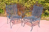 Two Outdoor Chairs poster
