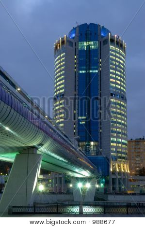 poster of Moscow-City Business Center