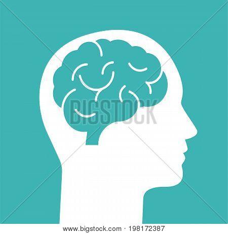 Human head with