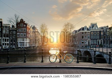 Bicycles on a