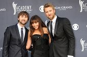 LAS VEGAS - APR 3:  Lady Antebellum  arriving at the Academy of Country Music Awards 2011 at MGM Gra