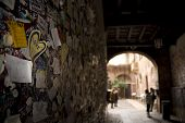 picture of juliet  - Wall full of messages from lovers in Juliet - JPG