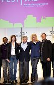 NEW YORK - APRIL 21 : L-R Spike Lee, Jane Rosenthal, Robert De Niro, Uma Thurman and Craig Hatkoff a