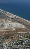 LOS ANGELES. - JUNE 30: Los Angeles International Airport is the busiest airport in L.A. & occupies