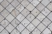 stock photo of arriere-plan  - Travertine tile floor - JPG
