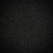 image of arriere-plan  - Black wool fabric texture with vignette - JPG