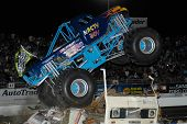 CHANDLER, AZ - APRIL 25: The monster truck
