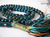 foto of prayer beads  - used in the performing of prayers - JPG