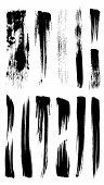 Collection Of Illustrator Stroke Brushes