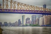 Queensboro Bridge And United Nations Headquarters, Manhattan